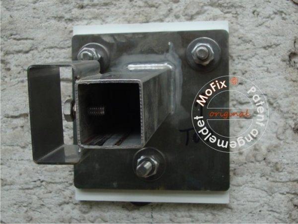 Unser neuer TherMoFix®-Adapter für Vordächer mit Rohrträgern